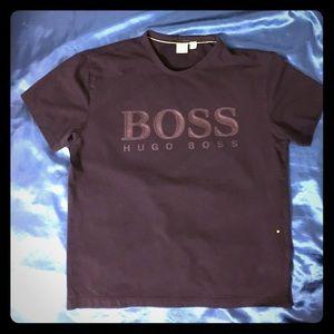 Hugo BOSS Men's T-Shirt Black XL